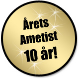 10-årsjubileum för Årets Ametist!