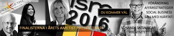 Finalisterna presenteras på ISM 25 januari - välkommen att vara med!